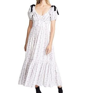 LoveShackFancy 'Angie' Floral Dress Size 2